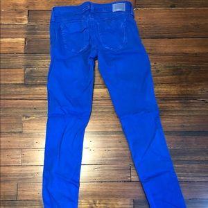 SOLD Design Lab Pants - Women's Blue Skinny Jeans Size 25